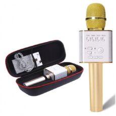 Портативный караоке-микрофон Q9 с динамиком + Чехол 4