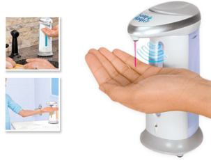 Сенсорный дозатор мыла Soap Magic 3