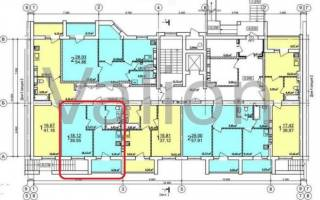 Продам 1 комнатную квартиру в ЖК Радужный 2