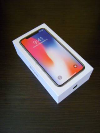 Коробка от смартфона Apple iPhone X