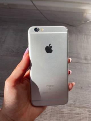 IPhone 6s 16Gb Silver (Neverlock) очень хорошее состояние