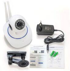 Беспроводная поворотная камера видеонаблюдения IP Camera UKC 6030 WiFi 2