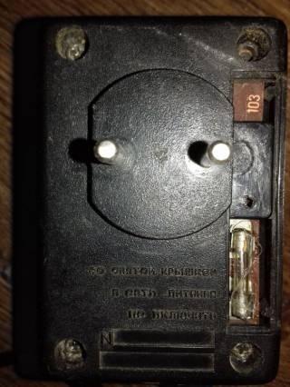 Магнитофон Электроника 321 (из блоком питания) 3