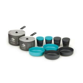 Набір посуду Sea To Summit Alpha Cookset 4.2 Pacific Blue-Grey 2