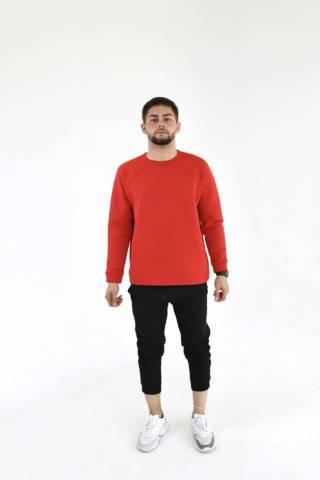 Мужской базовый свитшот спортивный свитер трикотажный разных цветов 6