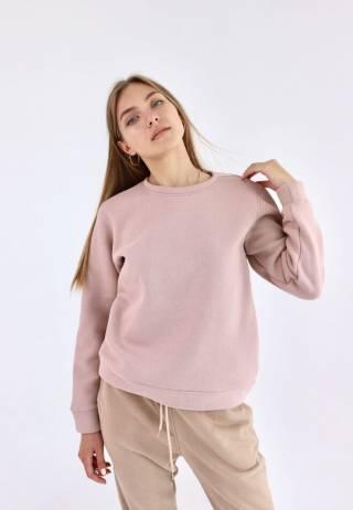Женский базовый свитшот свитер трикотажный спортивный в разных цветах 2