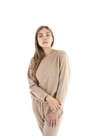 Женский базовый свитшот свитер трикотажный спортивный в разных цветах 3