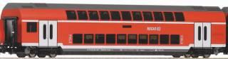 Цифра. Железная дорога Piko Пико. Двухэтажный пассажирский поезд DB AG 5
