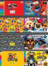 Продам альбомы для рисования формата А4 на 8,12,16,20,30 и 40 листов 2