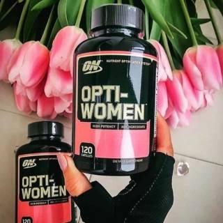 Лучший витаминно-минеральный комплекс для активных женщин Opti-Women, 10