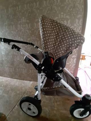 Продам детскую коляску Zippy Lux 4