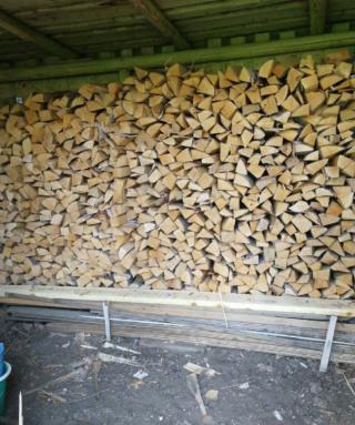 Продаём дрова 1,200грн колитие берёза, мокрая акацыя рубаные 6