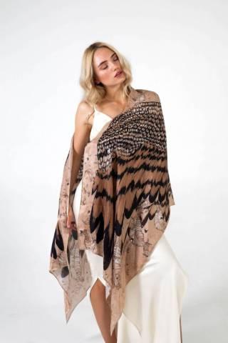 Шелковый платок Хустка з натурального шовку від бренду Zlitay 6