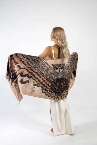 Шелковый платок Хустка з натурального шовку від бренду Zlitay 3