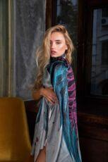 Шелковый платок Хустка з натурального шовку від бренду Zlitay 5