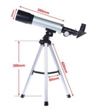 Телескоп юного астронома астрономический небольшой легкий простой в об 10