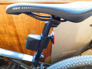 Сигнализация для велосипеда с пультом управления 4