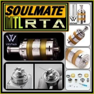 VXV Soulmate RTA SS. Обслуживаемый бакомайзер под легкую сигаретную за