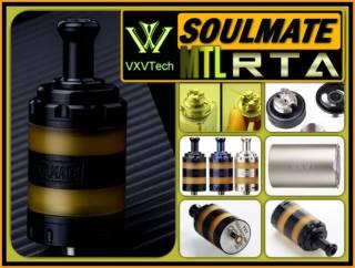 VXV Soulmate RTA SS. Обслуживаемый бакомайзер под легкую сигаретную за 4