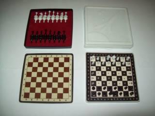 Шашки шахматы домино магнитные дорожные СССР 8