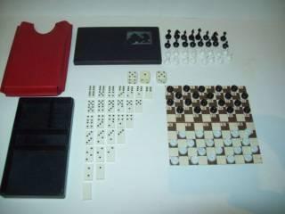 Шашки шахматы домино магнитные дорожные СССР 3