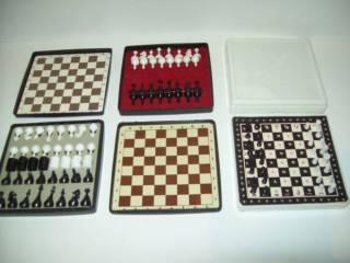 Шашки шахматы домино магнитные дорожные СССР 10