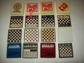 Шашки шахматы домино магнитные дорожные СССР 2