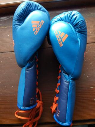 Рукавички Перчатки Бокс  Adidas Glory pro fight, 8oz 2