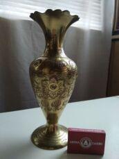 Итальянская бронзовая ваза  ручной работы