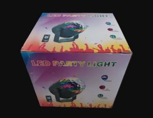 Диско-куля ( диско-шар) для вечірок з пультом та мікрофоном 6