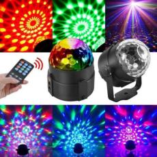 Диско-куля ( диско-шар) для вечірок з пультом та мікрофоном 5