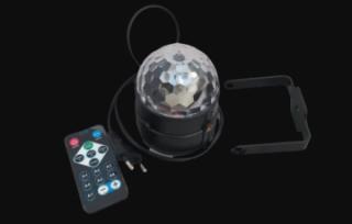 Диско-куля ( диско-шар) для вечірок з пультом та мікрофоном 4