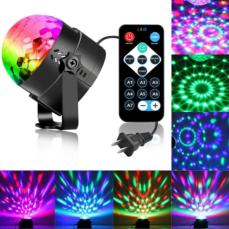 Диско-куля ( диско-шар) для вечірок з пультом та мікрофоном 7