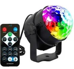 Диско-куля ( диско-шар) для вечірок з пультом та мікрофоном 3