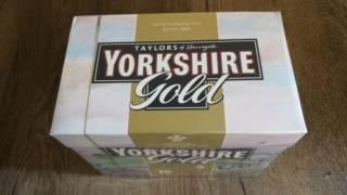 Чай - YORKHIRE GOLD - 80 пак. 250 гр. вжити до 06. 2021 р. 2