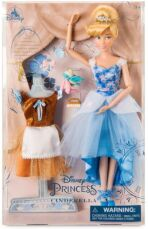 Кукла Золушка Балерина с нарядами и аксессуарами Disney, оригинал США 3