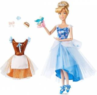 Кукла Золушка Балерина с нарядами и аксессуарами Disney, оригинал США
