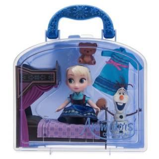 Игровой набор Кукла Эльза мини с аксессуарами Frozen Disney Animators