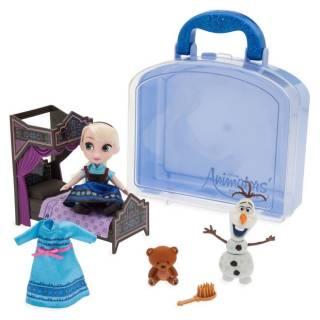 Игровой набор Кукла Эльза мини с аксессуарами Frozen Disney Animators 2