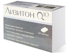 Лизитон Q10- формула красоты, 60 капс 2