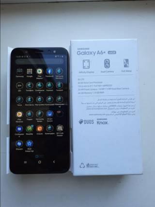 Телефон Samsung Galaxy A6+ 64GB 8