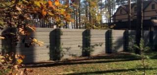 Крафтовый забор современный и стильный дизайн 4