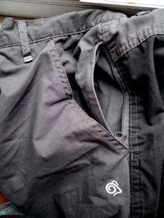 штаны брюки трекинговые Craghoppers Terrain CMJ301L (34L) 9