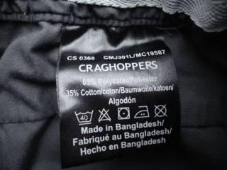 штаны брюки трекинговые Craghoppers Terrain CMJ301L (34L) 7