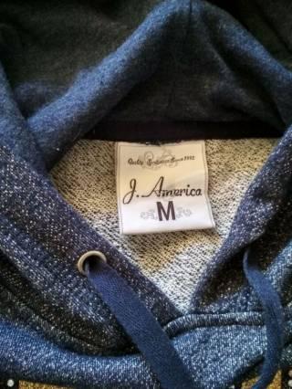 Реглан толстовка худи женский J. America оригинал США, новый, размер М 6