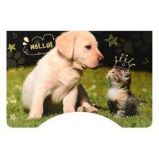Детская парта со стульчиком Bambi B 2071-90-1 Котенок и щенок 4