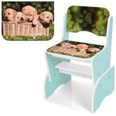 Детская парта со стульчиком B 2071-90-3 Котенок и щенок 4