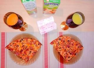 Пицца домашняя семейная 7