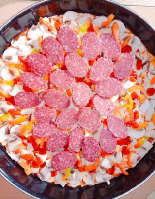 Пицца домашняя семейная 2