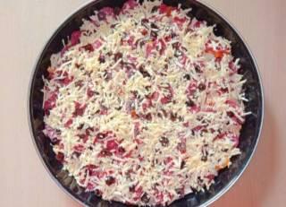 Пицца домашняя семейная 5